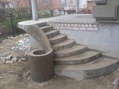 Лестница из бетона ЭФАЛ-СтройБел Вариант 18