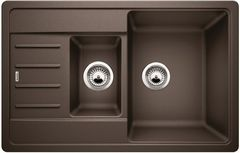 Мойка для кухни Мойка для кухни Blanco Legra 6 S Compact (521307M2) кофе + Mida Silgranit