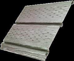 Софит Ю-пласт Timberblock Дуб серебристый с полной перфорацией