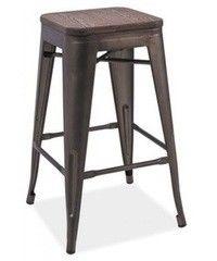 Барный стул Барный стул Signal Long (орех/графит)