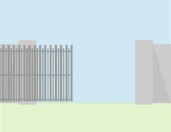 Alutech Откатные ворота алюминиевый профиль б/авт 3*1,5