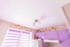 Натяжной потолок ТЕХО сатиновый для кухни