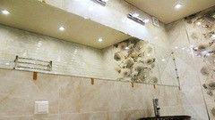 Мебель для ванной комнаты Valtera настенное бронза 4 мм, обработка шлифовка