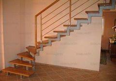 Элементы ограждений и лестниц КамЛам Каркас лестницы с перилами 14