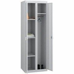 Шкаф металлический Практик LS(LE) 21-80U