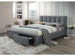 Кровать Кровать Signal Ascot 160x200 (серый)