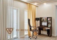 Письменный стол SV-Мебель №5 0139 (дуб млечный/дуб венге)