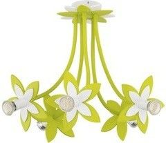 Детский светильник Nowodvorski 6901 Flowers Green V plafon