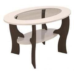 Журнальный столик Горизонт Калипсо-1 (Венге/Белый глянец)