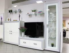 Мебель Черноземья Даймонд Наоми (белый/белый/глянец)