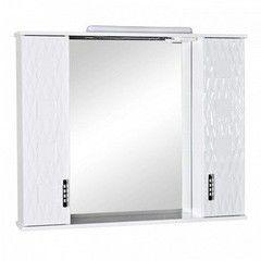 Мебель для ванной комнаты Аква Родос Зеркало со шкафчиком Ассоль 100