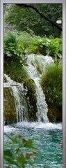 Стеклянная дверь Акма Imagination Waterfall