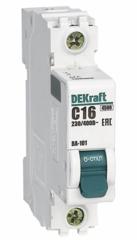 DEKraft Автоматический выключатель ВА101-1P-016A-C (11054DEK)