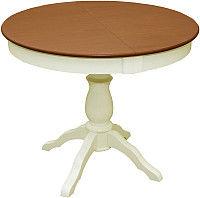 Обеденный стол Обеденный стол Мебель-Класс Гелиос ОНО-03 (орех/кремовый)