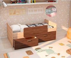 Детская кровать Детская кровать Интерьер-Центр Умка К-001 (дуб сонома/ясень светлый)