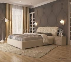 Кровать Кровать УЮТ Афина 120x200 (Velvet Lux 46)