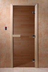 Дверь для бани и сауны Дверь для бани и сауны Doorwood Теплый день (800х1900)