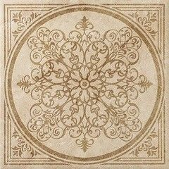 Плитка Плитка Italon NLStone Almond Inserto Bloom 60x60