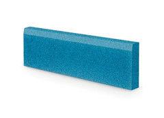 Резиновая плитка Rubtex Бордюр 1000x260 (голубой)