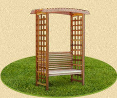 PlayComplex Арочная пергола со скамьей