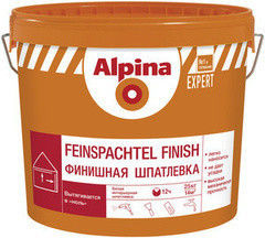 Шпатлевка Шпатлевка Alpina Expert Feinspachtel finish 15 кг