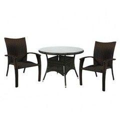 Комплект мебели из ротанга Garden4you WICKER 13323, 12698 (cтол и 4 стула)