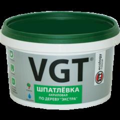 Шпатлевка Шпатлевка ВГТ «Экстра» по дереву 0.3 кг