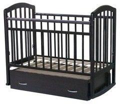 Детская кровать Кроватка Антел Алита-4 (венге)