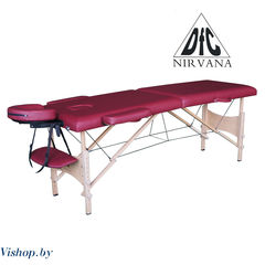 Мебель для салонов красоты  Массажный стол DFC NIRVANA Optima винный