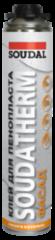 Клей Клей Soudal Soudatherm  для пенопласта 750 мл (арт. 121106)