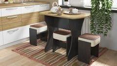 Обеденный стол Обеденный стол ТриЯ на деревянных ножках Турин
