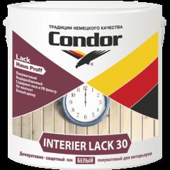 Лак Лак Condor Interier Lack 30 (белый) 2,3 л (2,3 кг)