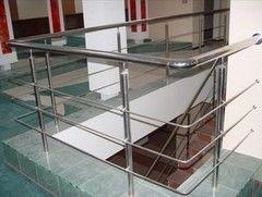 Элементы ограждений и лестниц Алай Д.О. Вариант 1 из нержавеющей стали