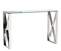 Стол-консоль Стол-консоль Garda Decor 47ED-CST008 (стекло)