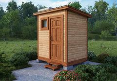 Летний душ для дачи Летний душ для дачи БелДревМонтаж С туалетом 212х212