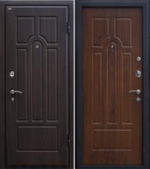 Входная дверь Входная дверь МеталЮр М5 темный орех