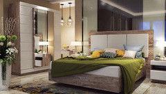 Спальня Калинковичский мебельный комбинат Роксет дуб бордо