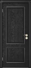 Межкомнатная дверь Межкомнатная дверь Юркас Шервуд 3 ДГ (эмаль чёрная)