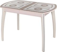 Обеденный стол Обеденный стол Домотека Танго ПО (СТ-71/молочный дуб/07) 70x110(147)x75