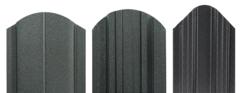 Забор Забор МКтрейд Штакетник трапеция-усиленный (RAL 7024 двустороннее покрытие, мат)