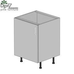 Кухонный шкаф Кухонный шкаф Диприз Шкаф нижний 60 Д 9001-27-1 (1 дверь)