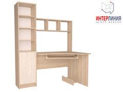 Письменный стол Интерлиния СК-005 Дуб сонома+Дуб белый