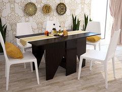 Обеденный стол Обеденный стол Интерлиния СТ-004 (дуб венге)