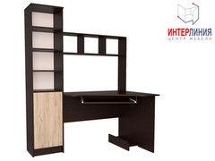 Письменный стол Интерлиния СК-005 Дуб венге+Дуб серый