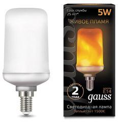 Лампа Лампа Gauss 157401105, E14, T65, 5Вт