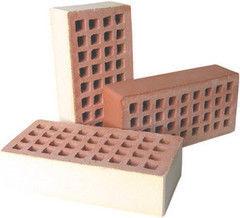 Кирпич Керамический кирпич Керамин Лицевой пустотелый одинарный (КЛПО-125, песочный)