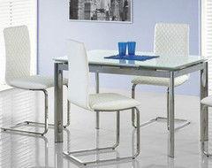 Обеденный стол Обеденный стол Halmar Lambert белый