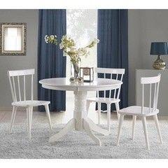 Обеденный стол Обеденный стол Halmar Gloster белый