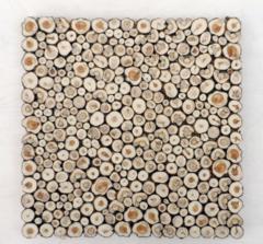 Аксессуар для бани Можжевельник Панно декоративное 500x500 мм