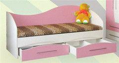 Детская кровать Детская кровать ЭталонМебельКом Аленка